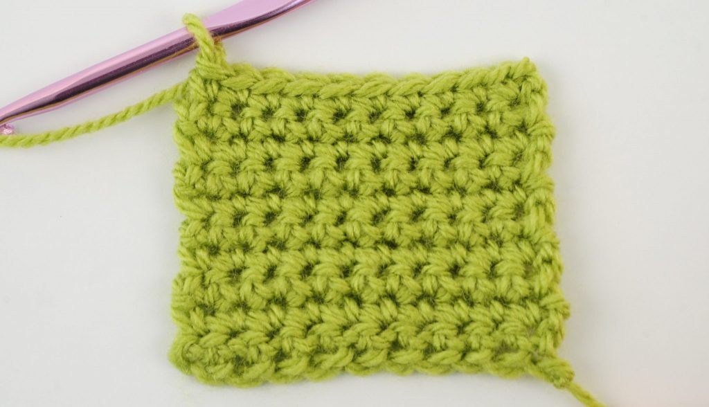 In this lesson we will learn how to crochet the single crochet stitch. We will also learn how to single crochet a flat piece in two ways. | Nea Creates
