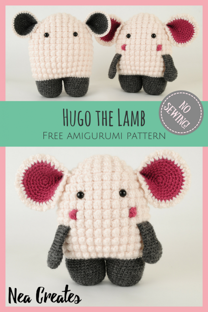 Hugo the Lamb: Free Amigurumi Pattern | Nea Creates