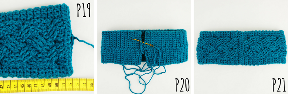 Crochet this beautiful Cabled Headband / Earwarmer using this Free crochet pattern! The size of the headband can be adjusted to fit anyone!