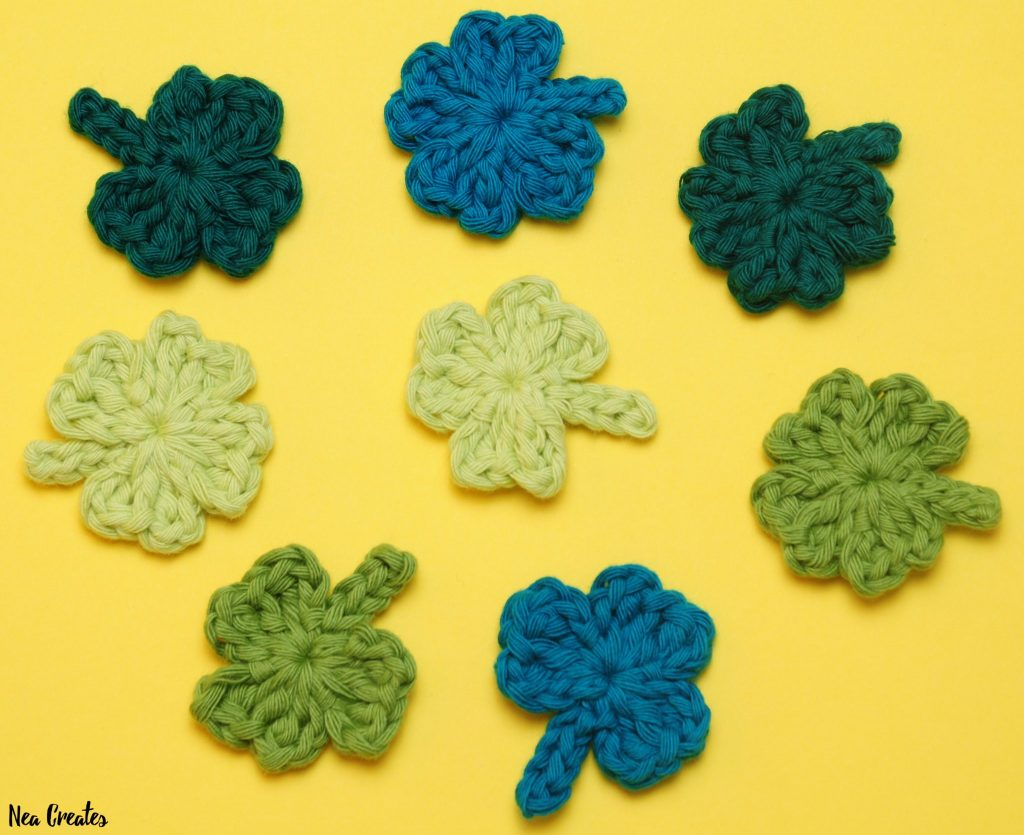 Shamrock Appliqué: Free Crochet Pattern Nea Creates
