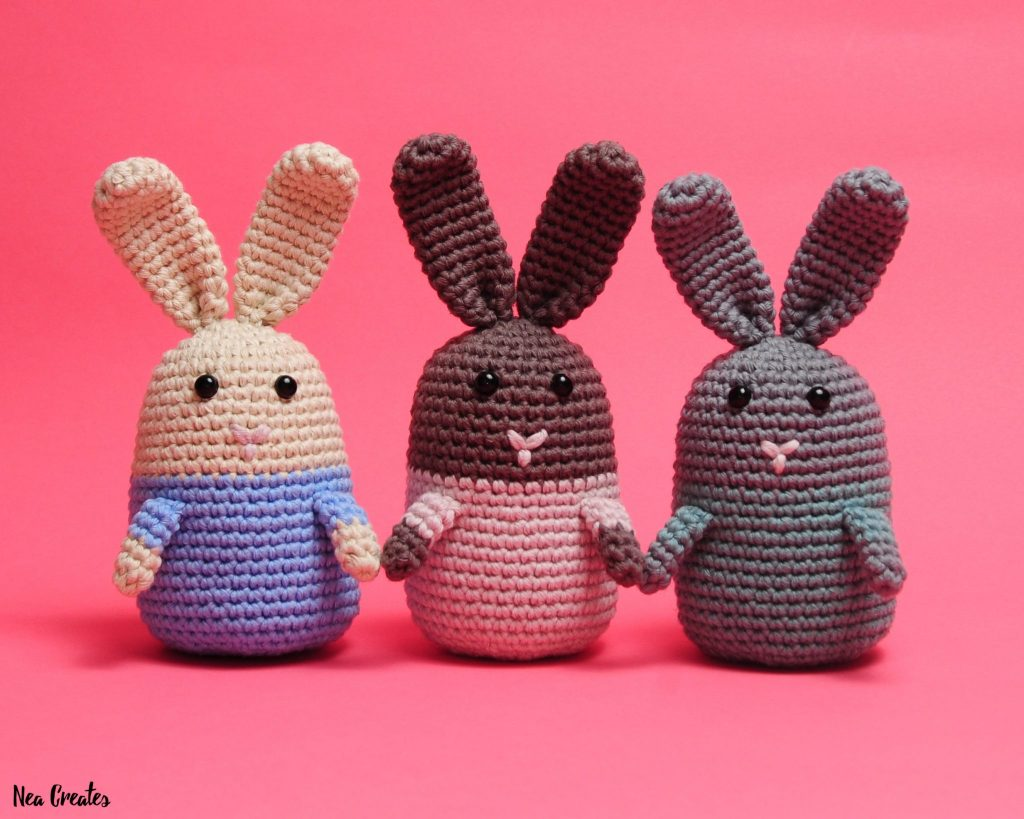 Pattern: Spring Bunnies - All About Ami | 819x1024