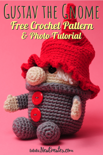 Free Amigurumi Gnome Toy Softies Crochet Patterns | 512x341