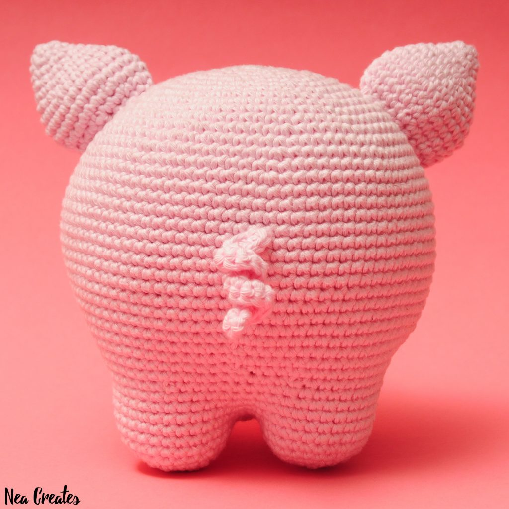 Amigurumi Little Piggy Free Pattern | 1024x1024